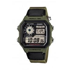Casio 42mm Digital Nylon Sports Watch - (AE-1200WHB-3BVDF)