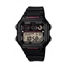 Casio 42mm Gent's Digital Resin Sports Watch - (AE-1300WH-1A2VDF)