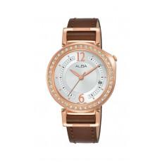Alba 34mm Analog Ladies Leather Fashion Watch (AG8K16X1)
