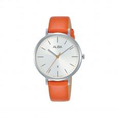 Alba 34mm Analog Ladies Fashion Leather Watch (AH7T31X1) - Orange