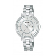 Alba 32mm Ladies Analog Fashion Metal Watch - (AH7U01X1)