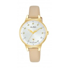 Alba 30mm Ladies Analog Fashion Leather Watch - (AH7U54X1)
