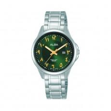 Alba 41mm Casual Analog Ladies with Arabic Index Metal Watch - AH7W55X1
