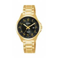Alba 31mm Ladies Analog Metal Watch Arabic Index - (AH7W62X1)