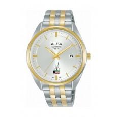 Alba 29mm Ladies Analog Metal Watch with Kuwait Flag - (AH7Y08X1)