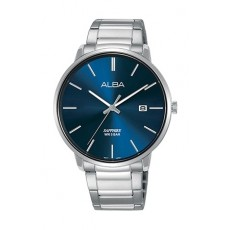 Alba 40mm Analog Gent's Metal Watch (AS9G67X1) - Silver