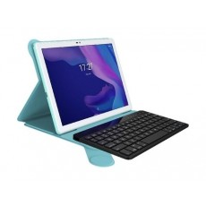 """Alcatel 1T 16GB Wifi 10"""" Tablet with Keyboard & Cover - Mint"""