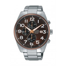 Alba Gents Chronograph Watch Metal Strap AM3201X1