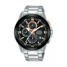 Alba 43mm Gent's Chronograph Fashion Metal Watch - (AM3727X1)