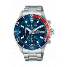 Alba 42mm Gent's Metal Chronograph Casual Watch - AM3801X1