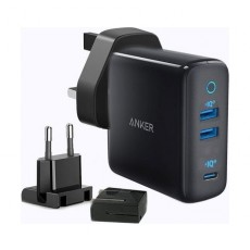 Anker A2033H11 PowerPort III 3-Port 65W Charger - Black