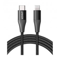 Anker PowerLine+ II 1.8m USB-C to Lightning Cable - Black
