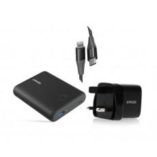 Anker PowerCore 13400 mAh powerbank + Wall Charger + PowerLine + II USB-C 90cm