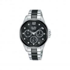 Alba 36mm Analog Ladies Metal Watch (AP6631X1) - Silver/Black