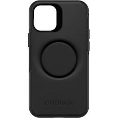 Otterbox iPhone 12 Mini Otter Case with Pop Symmetry Grip - Black