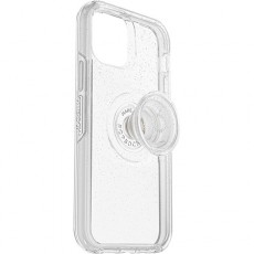Otterbox iPhone 12 Pro Case with Pop Symmetry Grip - Clear Stardust
