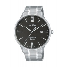 Alba Gents Casual Analog 44 mm Metal Watch (AS9E11X1) - Silver