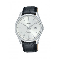 Alba 42mm Analog Gents Leather Casual Watch (AS9H61X1)