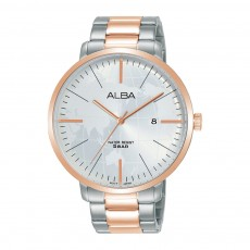 Alba 44mm Analog Gents Metal Casual Watch (AS9J78X1)