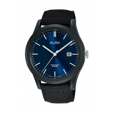 Alba 42mm Gent's Analog Nylon Sports Watch - (AS9K25X1)