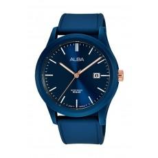 Alba 42mm Gent's Analog Silicon Sports Watch - (AS9K31X1)