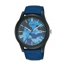 Alba 42mm Gent's Analog Silicon Sports Watch - (AS9K35X1)