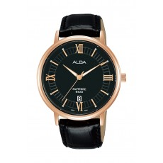 Alba 41mm Gent's Leather Analog Casual Watch - AS9L28X1