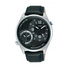 Alba 43mm Gents Analog Fashion Leather Watch - (AZ9025X1)