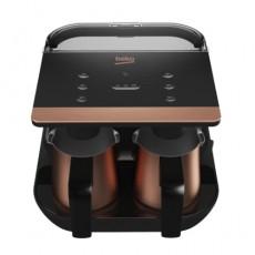 Beko Telve Duo Turkish Coffee Machine - 1050W (TKM8961B) Rose Gold/Black