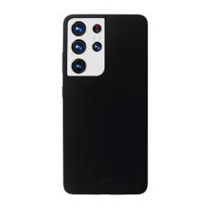 EQ Samsung Galaxy S21 Ultra Silicone Case - Black