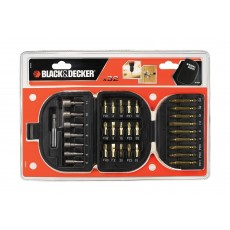 Black+Decker 32 Pieces Screwdriver & Nutdriver Set - (A7094-XJ)