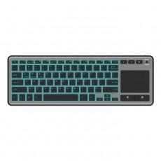 Bluetooth Backlit Green Keyboard Touchpad Xcite EQ Buy in Kuwait