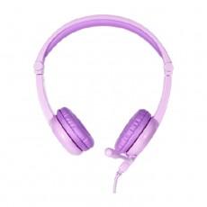 BuddyPhones Galaxy Wired Purple Kids Gaming Headohones in Kuwait | Buy Online – Xcite