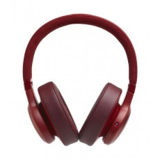 JBL Live 500BT Wireless Over-Ear Headphones - Red