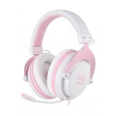 Sades Mpower Gaming Headset - Pink 2