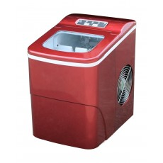 Wansa 12kg Ice Maker (HZB-12B) - Red