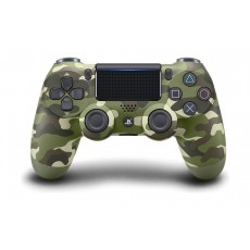 Sony PS4 Controller DualShock 4 Wireless – Green Camouflage Front View