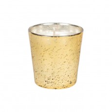 Amber Candle 75g - Gold