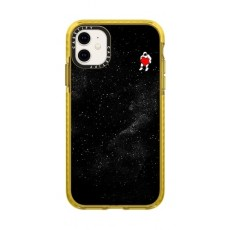 Casetify Love Space iPhone 11  Backcase - Black/Yellow