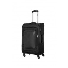American Tourister Duncan 81CM Spinner Soft Luggage (FL8X09903) - Black