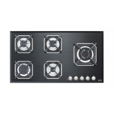 Lofra 90cm 5-Burner Built-in Gas Hob (HGN950) - Black