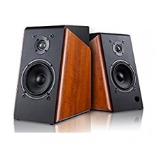 F&D R60BT Bookshelf Wireless Portable Bluetooth Speaker - Black