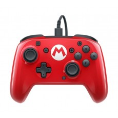 Sony Faceoff Wired Pro Controller For Nintendo Switch - Red Mario