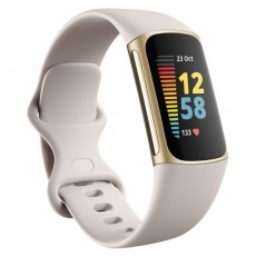 Fitbit Fitness Tracker white soft gold Stainless Steel silicon buy in xcite Kuwait