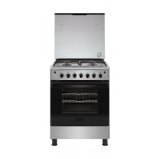 Frigidaire 60X60cm 4 Burner Gas Cooker (FNGJ60JGUC) - Stainless Steel
