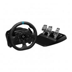 Logitech G923 TrueForce Slim PS4 and PC Racing Wheel in Kuwait | Buy Online – Xcite