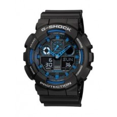 Casio G-Shock Resin Band Sport Watch For Men  (GA-100-1A2DR)