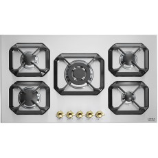 Lofra 90cm 5-Burner Built-in Gas Hob (HRS9A0) - Black
