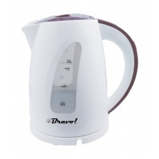Bravo 2200W 1.7L Electric Kettle (KEC-1799) – White