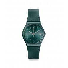 Swatch Ashbaya Quartz Analog 34mm Unisex Rubber Watch (GG407)